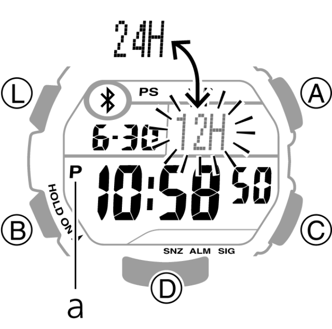 How to Change Digital Time on G Shock 5146?