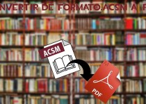 How to Convert Acsm to PDF