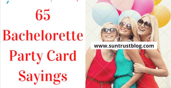 Bachelorette Party Card Sayings