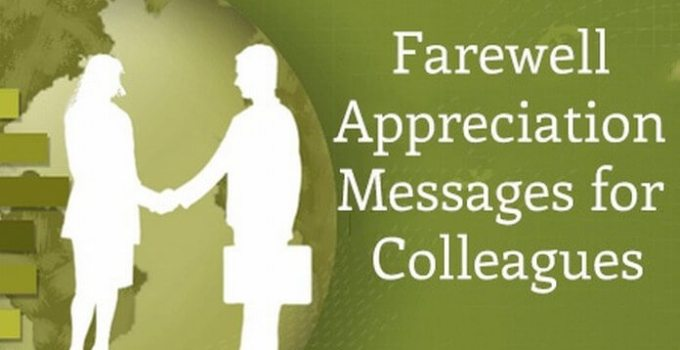 Farewell Messages to Coworkers & Colleagues