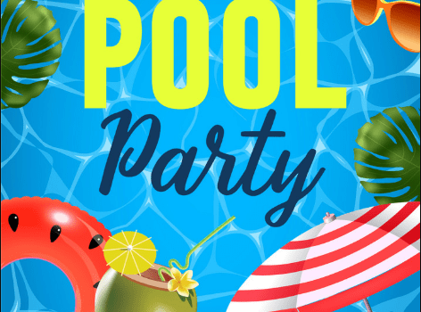 Pool Party Invitation Ideas