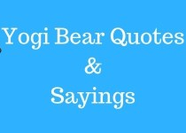 Yogi Bear Sayings: