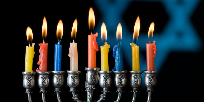 """""""Warmest greetings of the Season and best wishes for Happiness in the New Year with Hanukkah Blessings."""""""