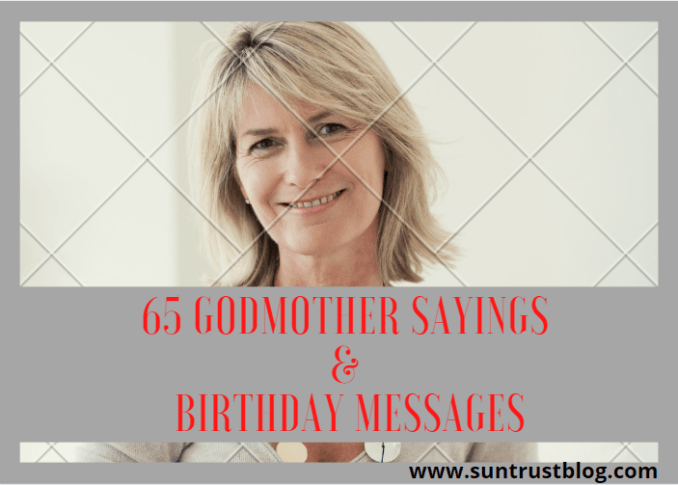 Godmother Sayings & Birthday Messages