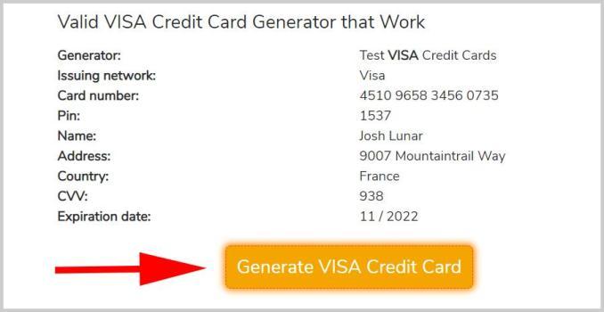 Fake credit card generator: Conclusion