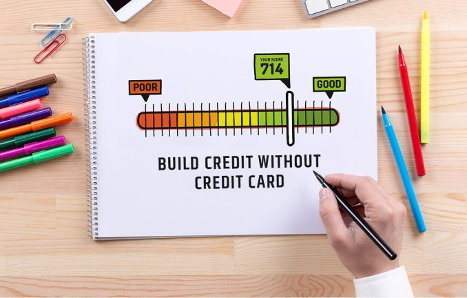 Build Credit Without a Credit Card & Steps to Practice Good Credit Habits.