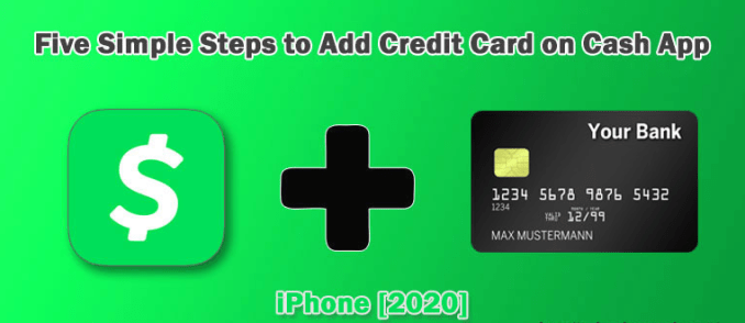 How to add a credit card to your Cash App