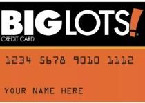 The Big Lots Credit Card