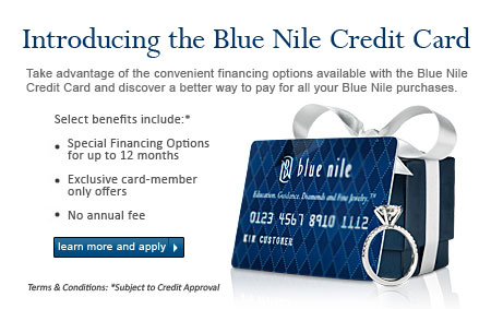 Blue Nile Credit Card Rates