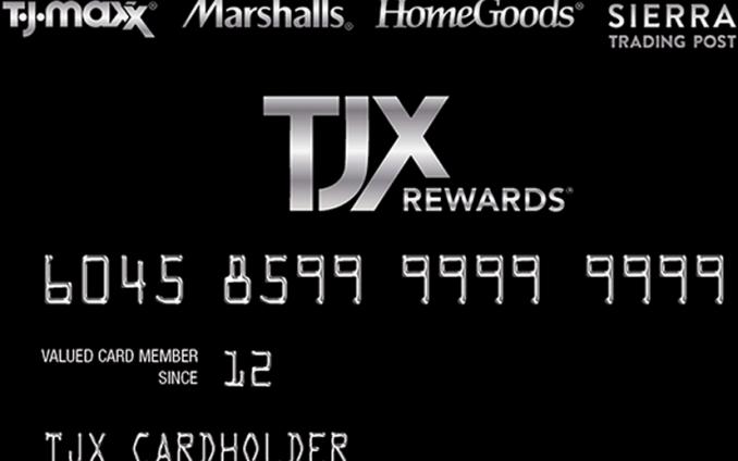 TJMaxx Credit Card