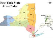 New York Area Codes' Complete and Accurate Map List
