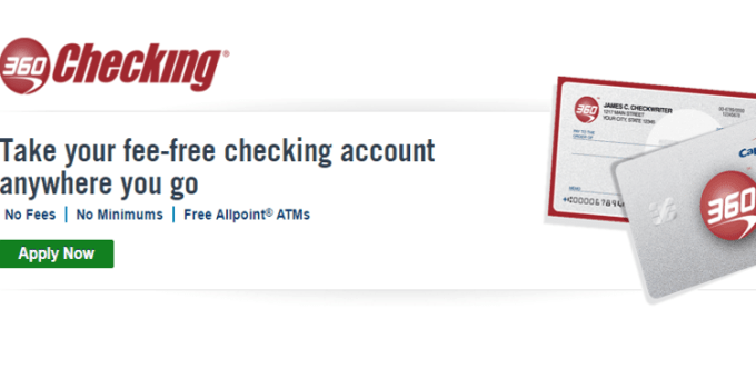 Capital One 360 Checking Account & ATM Network and Fees