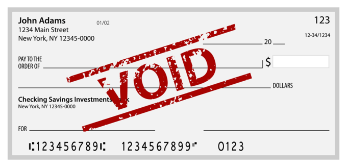 What Is a Voided Check & How Do You Get a Voided Check