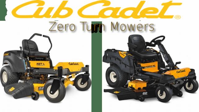 zero turn mowers