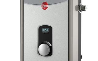 Rheem RTEX-13 Residential Tankless Water Heater