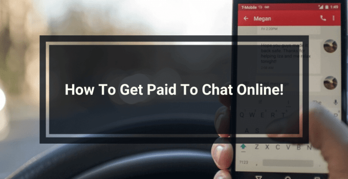 Get Paid to Chat