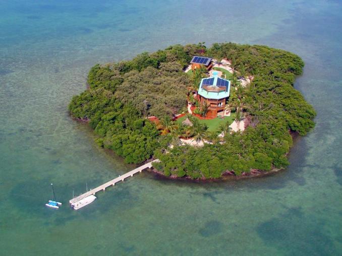 Buy a Lush Private Island