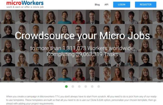 Pros of Earning with Microworkers