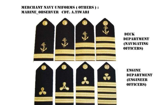 Ranks of Seafarers