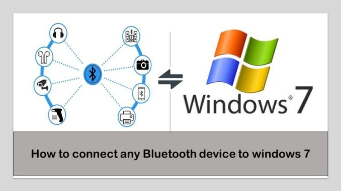 How to Set Up a Bluetooth Device in Your Window 7 PC