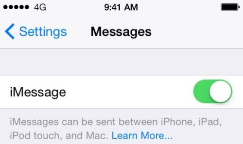 iMessage not Working?