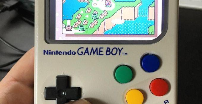 How to Make Raspberry Pi Game Boy