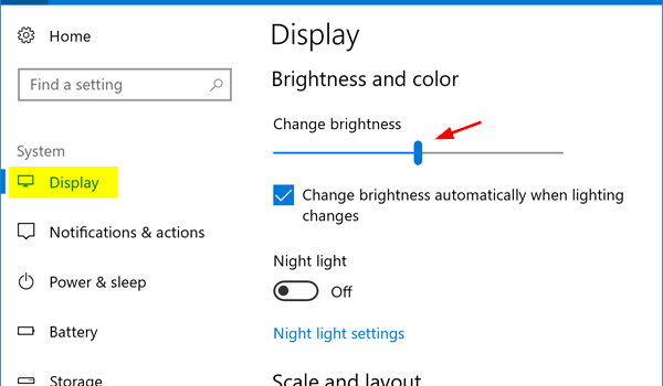 How to Adjust the Brightness of your Screen on Windows 10