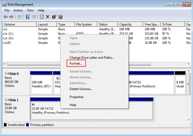 """How Do I Fix """"Windows was Unable to Complete the Format"""" Error"""