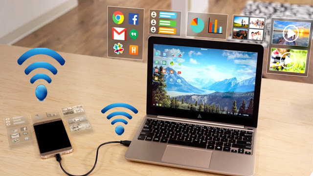 How to Connect Your Mobile Internet to PC/Laptop Via Tethering
