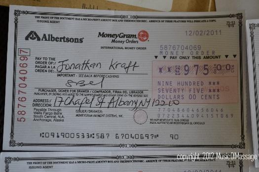 Albertsons Money Order