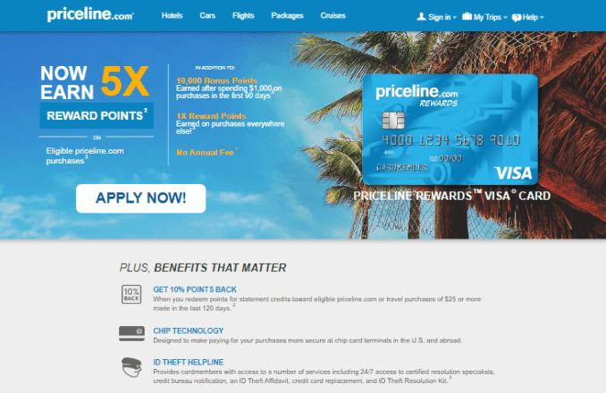 Priceline Credit Card