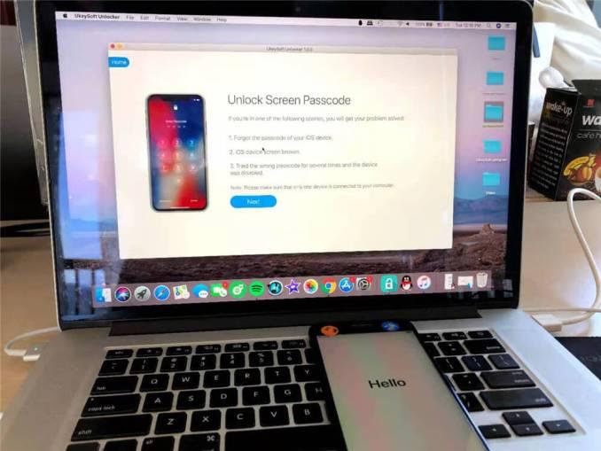 Remove iPad Passcode via DFU Mode