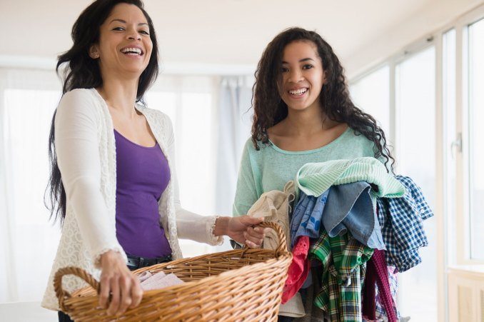 laundry teenager job