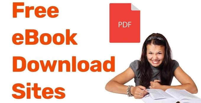 Free Ebook Download Sites