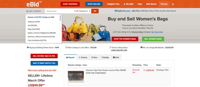 Best Auction Sites Alternatives Just like eBay
