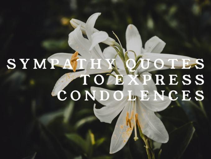 condolence note
