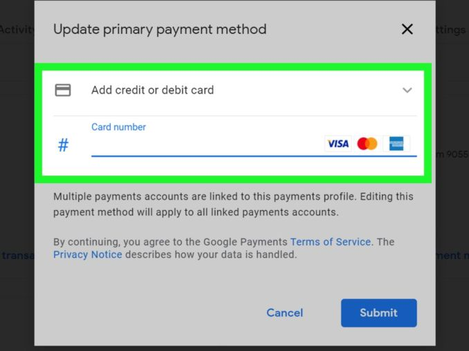 How to Create, Edit, Backup and Remove Your Google Payment Profile