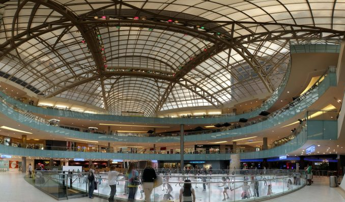 biggest malls