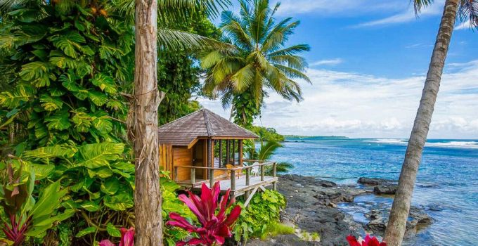 tropical trip with sandy beaches
