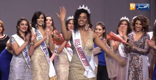 """misse-algerie-2019-4 Critiquée, Miss Algérie jugée """"trop noire"""", enflamme les réseaux sociaux… (Photos)"""