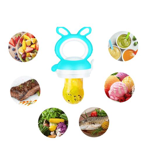 Grignoteuse - Sucette Fruit Pour Bébé - Tétine Alimentaire Silicone