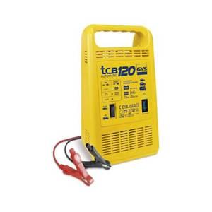 Chargeur de batterie automatique 12V + testeur de batterie Gys TCB 120