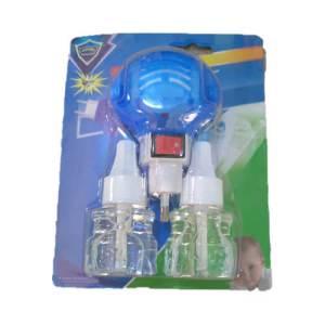 Kit fumigateur électrique avec liquide anti-moustique - Kit tue-moustique