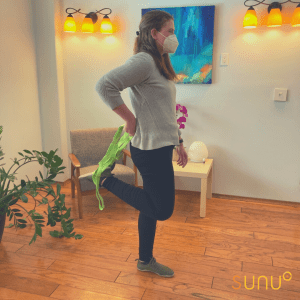 Stretching at home with Dr. Cailin of Sunu Wellness