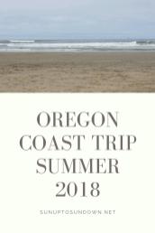 Oregon coast trip summer 2018 (1)