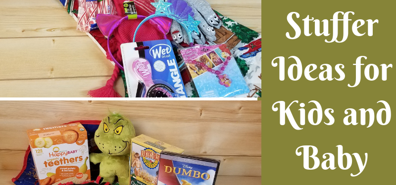 Stocking Stuffer Ideas for Kids and Baby