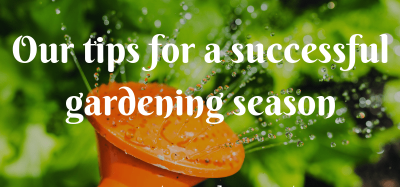 Our tips for a successful gardening season