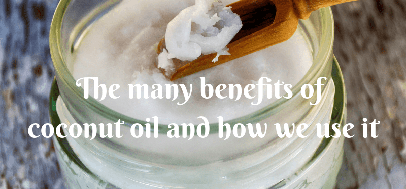 The many benefits of coconut oil and how we use it
