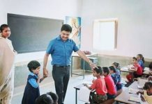 chhattisgarh-kawardha-collector-avneesh-sharan-made-his-daughter-admission-in-government-school-