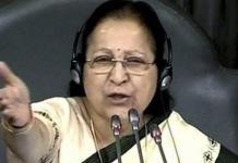 sabha speaker sumitra mahajan fumes over mruckus in lok sabha says school kids mare better